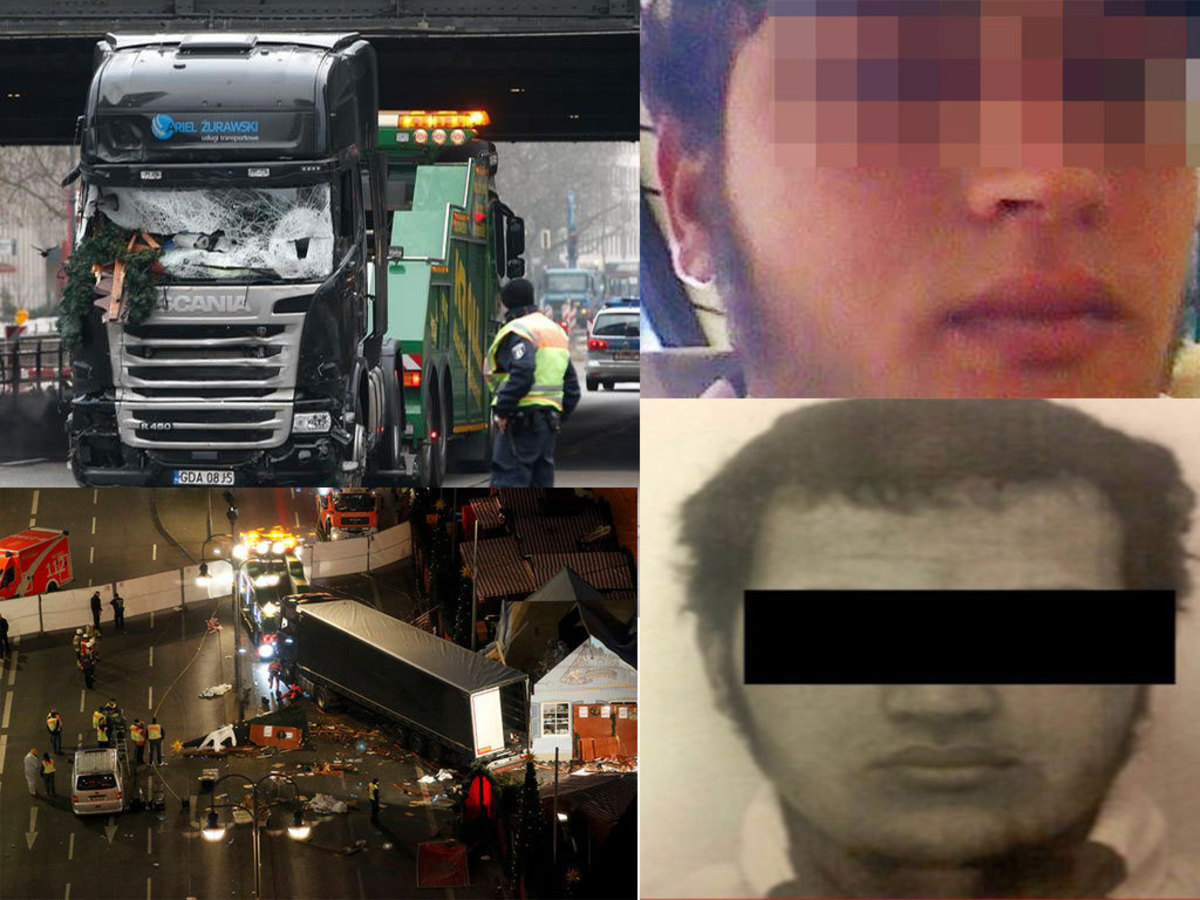 Βερολίνο: Αυτός είναι ο ύποπτος δράστης της τρομοκρατικής επίθεσης – Spiegel: Βρέθηκε ταυτότητα στη νταλίκα! Ανήκει σε Τυνήσιο!
