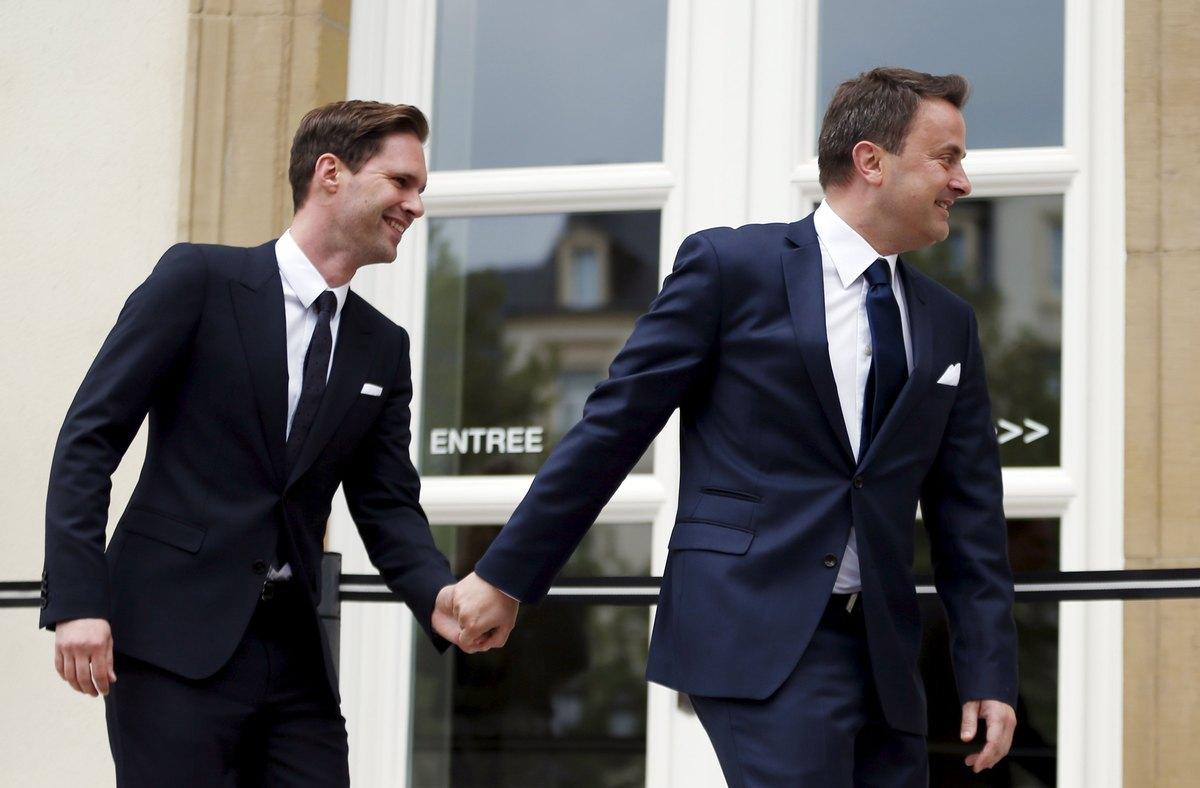 Ο πρωθυπουργός του Λουξεμβούργου παντρεύτηκε το σύντροφό του! – Φωτογραφίες