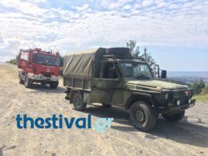 Θεσσαλονίκη: Στο πεδίο βολής του Ασκού το στρατιωτικό βλήμα που βρέθηκε στο Σέιχ Σου [vid]