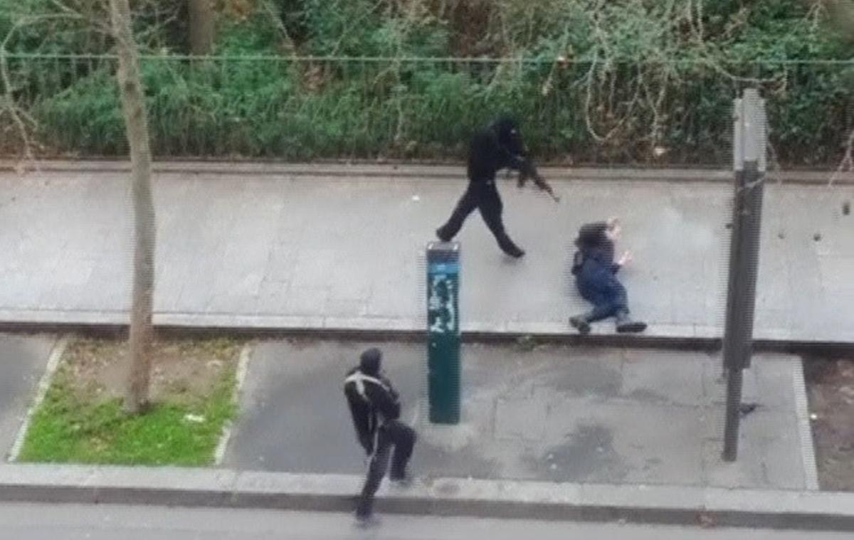 Η στιγμή της επίθεσης στις 7 Ιανουαρίου 2015 ΦΩΤΟ: REUTERS