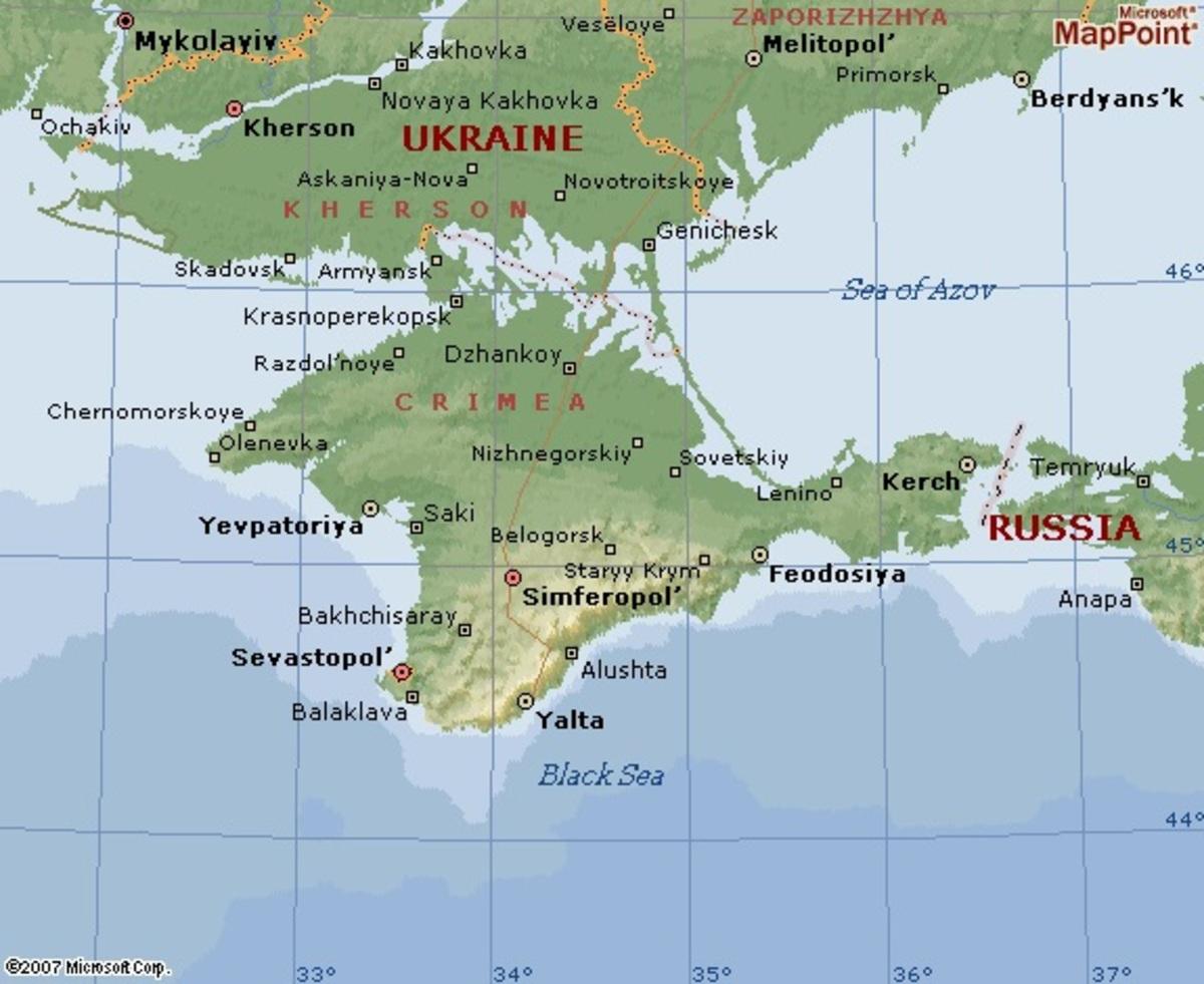 Γιατί η Κριμαία είναι τόσο σημαντική για Ουκρανία και Ρωσία