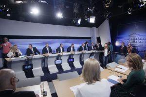 Debate πολιτικών αρχηγών – Οι απαντήσεις για το μεταναστευτικό