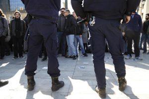 Φοιτητές διαδήλωσαν εναντίον του Μοσκοβισί στο Πανεπιστήμιο [pics]