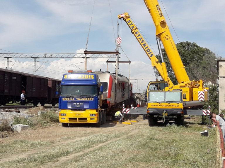 """""""Σε δώδεκα μέρες το αργότερο θα αποκατασταθεί η σιδηροδρομική σύνδεση στο Άδενδρο"""""""