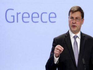 """Ντομπρόβσκις για Ελλάδα: Συμφωνία πριν από τις 22 Μαρτίου"""""""