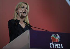 Συνέδριο ΣΥΡΙΖΑ: Η περίπτωση Ρένα Δούρου