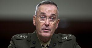 Στην Άγκυρα ο αρχηγός των Ενόπλων Δυνάμεων των ΗΠΑ – Θα καταδικάσει το πραξικόπημα