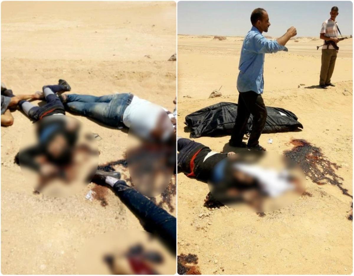 Αίγυπτος: Σοκαριστικές φωτογραφίες μετά το μακελειό! Προσοχή, σκληρές εικόνες