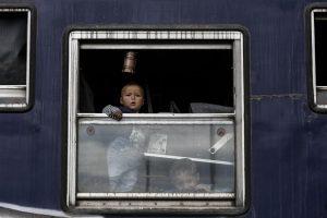 Πάνω από 1000 πρόσφυγες και μετανάστες μετακινήθηκαν σήμερα από την Ειδομένη