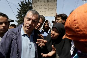 Θεοδωράκης από την Ειδομένη: Άμεση εκκένωση του καταυλισμού
