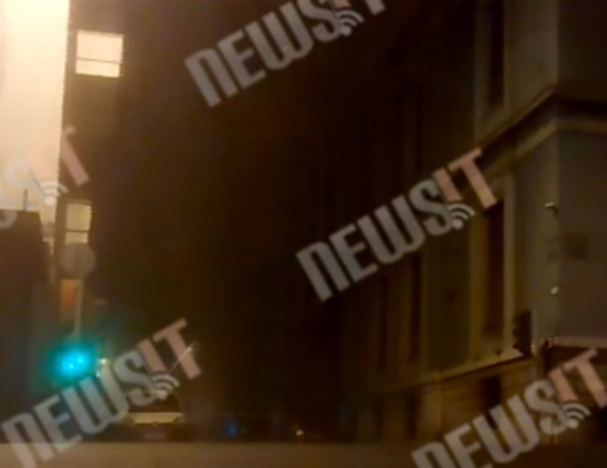 Νέο βίντεο από την έκρηξη στο ΣΕΒ – Σείστηκαν τα κτίρια
