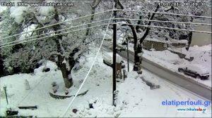 Καιρός: Άρχισαν τα… όργανα! Στα λευκά η Θεσσαλία – Βροχές και καταιγίδες τις επόμενες ώρες