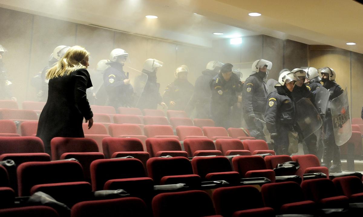 Δίκη Χρυσής Αυγής: Αιχμές του υπουργείου Δικαιοσύνης εναντίον της αστυνομίας για τα επεισόδια
