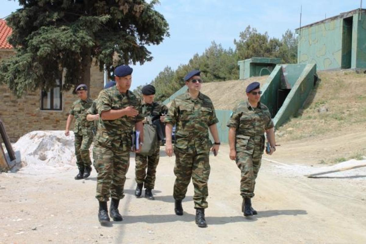 Ο Γενικός Επιθεωρητής Στρατού σε μονάδες του ανατολικού Αιγαίου – Γιατί πήγε