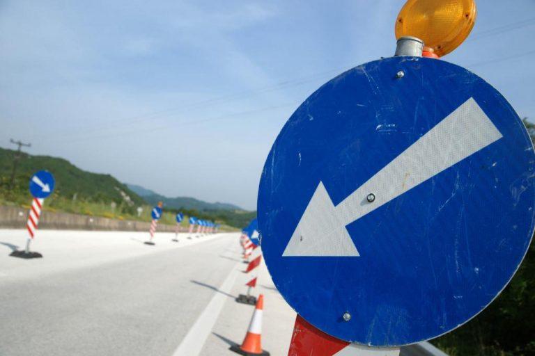 Εργασίες συντήρησης στην εθνική οδό Θεσσαλονίκης – Έδεσσας