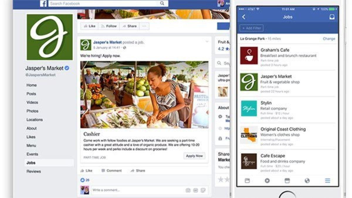 Facebook Jobs: Βρείτε δουλειά μέσα από το Facebook!