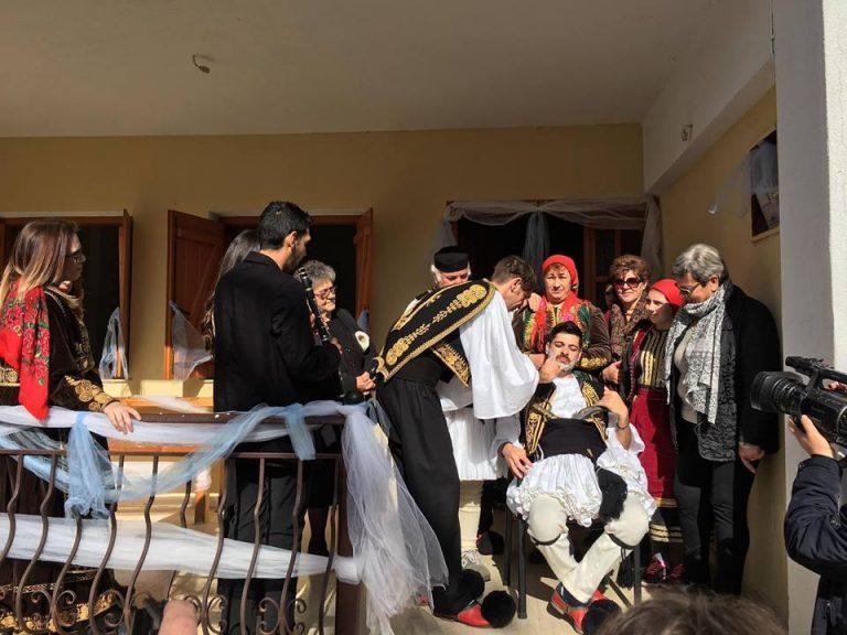 Καθαρά Δευτέρα 2017: Αναβίωσε στη Θεσπρωτία ο Παραδοσιακός Γάμος [pics]