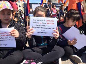 Θεσσαλονίκη: Ποδηλατοπορεία και σιωπηλή διαμαρτυρία για τη Γενοκτονία των Αρμενίων [vids]