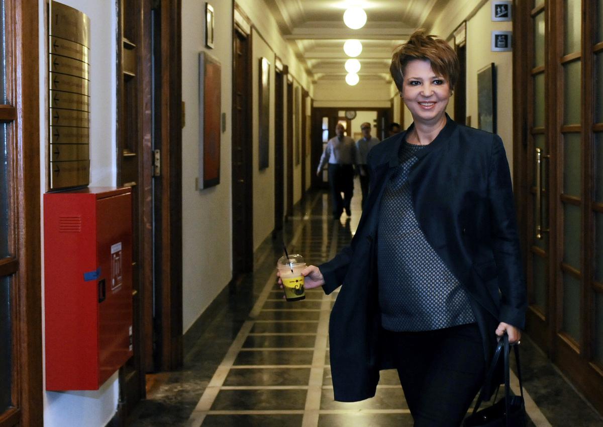 Πέταξαν πέτρες στο σπίτι της κυβερνητικής εκπροσώπου, Όλγας Γεροβασίλη