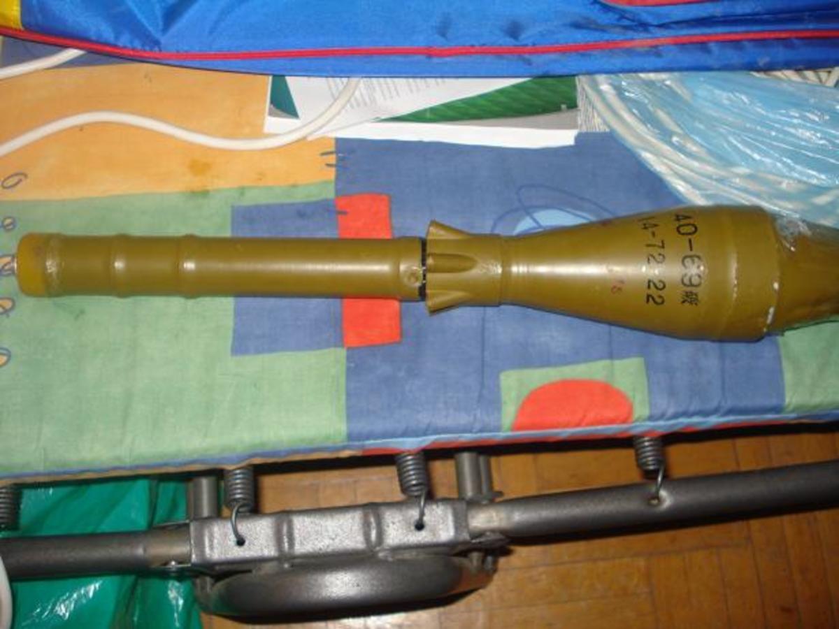 Μέρος από τα όπλα των τρομοκρατών