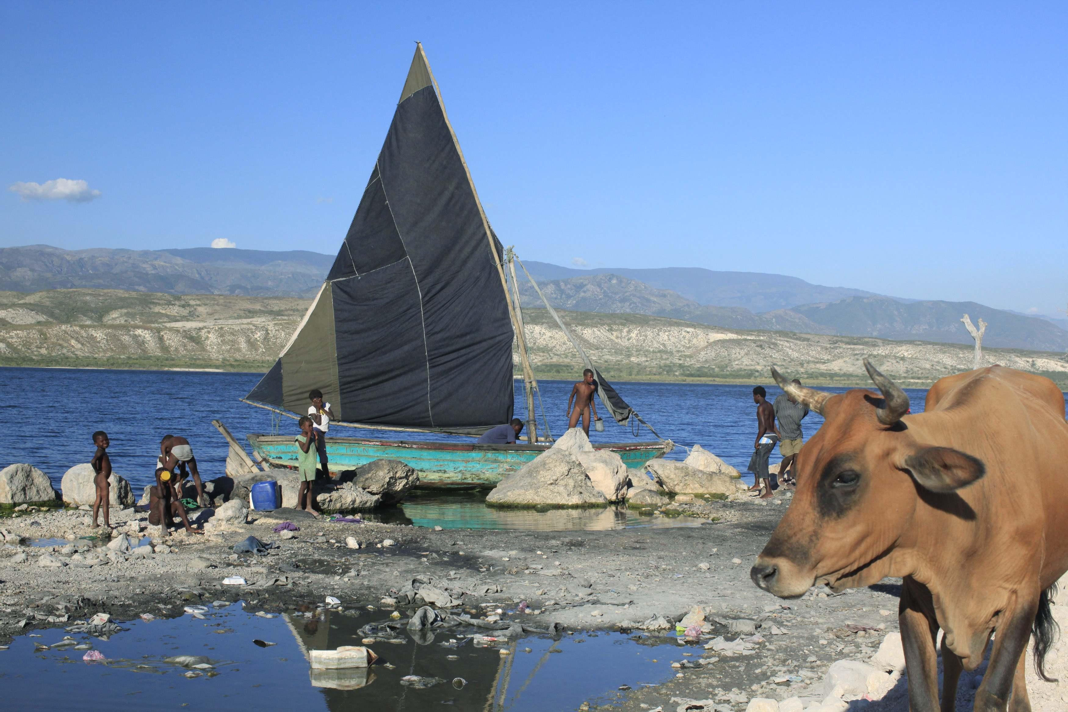 Από την Αϊτη πριν ισοπεδωθεί από τον σεισμό των 7 Ρίχτερ ΦΩΤΟ REUTERS