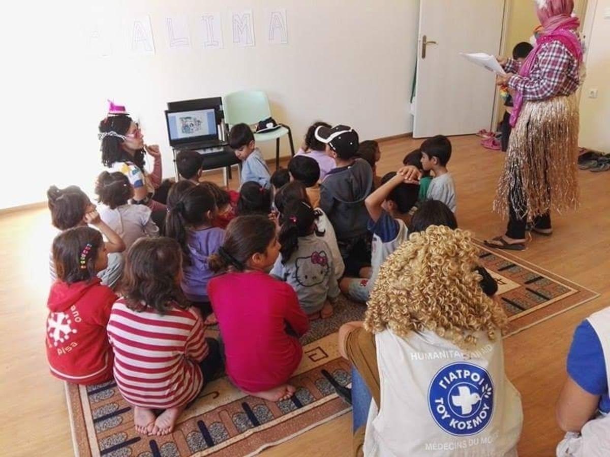 Φωτογραφία από κέντρο φιλοξενίας στην Καβάλα - ΦΩΤΟ από ΑΠΕ-ΜΠΕ