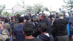 Ειδομένη: Νέα διαμαρτυρία στο φράχτη και νέα ένταση