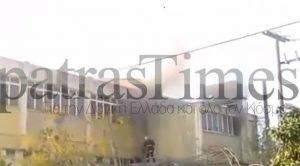 Πάτρα: Φωτιά ξέσπασε στο κτίριο του Δημόσιου ΙΕΚ