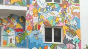 Το πιο εντυπωσιάκο γκράφιτι για τους πρόσφυγες στο κέντρο του Ηρακλείου! ΦΩΤΟ