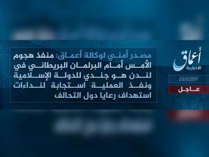 """Επίθεση στο Λονδίνο: Ανάληψη ευθύνης! """"Στρατιώτης του ISIS"""" ο μακελάρης"""