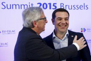 """Γιούνκερ για Ελλάδα: """"Το κοινοτικό δίκαιο δεν είναι υποχρεωτικό στο μνημόνιο"""""""