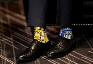 Πολιτικός φόρεσε κάλτσες Star Wars σε επίσημη συνάντηση [pics]