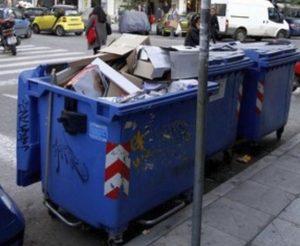 Μπλόκο σε βουλγαρικά φορτηγά με ανακυκλώσιμα υλικά