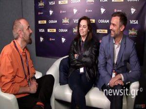 "Eurovision 2017 – Καπουτζίδης, Κοζάκου: Τα προβλήματα στη διοργάνωση και η ""ευθύνη"" της ΕΡΤ [vid]"