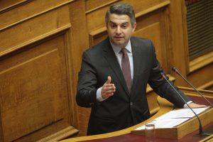 """Κωνσταντινόπουλος σε Σταθάκη: «Είστε """"λίγο ήλιος, λίγο θάλασσα και το κορίτσι μου""""»"""