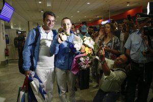 Τάσος Κορακάκης: Δεν κάλεσαν την Άννα στο Προεδρικό μαζί με τους άλλους Ολυμπιονίκες