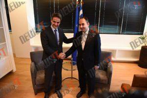 Το κλειδί της ΝΔ παρέλαβε ο Κυριάκος Μητσοτάκης – «Θα βρεθούμε απέναντι στον λαϊκισμό μιας αναποτελεσματικής κυβέρνησης»