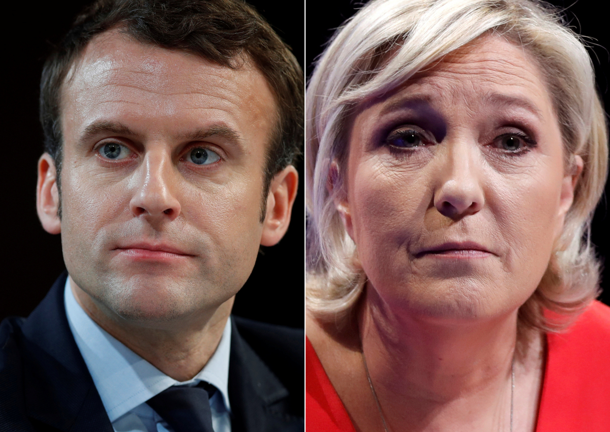 Γαλλία – Εκλογές, δημοσκόπηση: Θρίαμβος Μακρόν στον β' γύρο