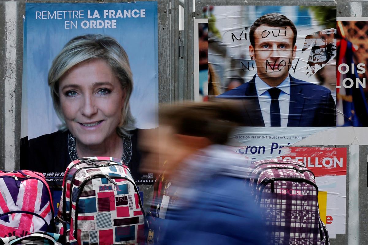 Γαλλία – Δημοσκόπηση: Έπιασε τον Μακρόν στον… ύπνο η Λε Πεν