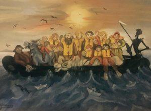 Θεσσαλονίκη: Όταν οι πρόσφυγες μιλούν μέσα από την τέχνη [pics]