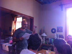 Ο σκηνοθέτης του «Νησιού»… γράφει τη «Λέξη» του!