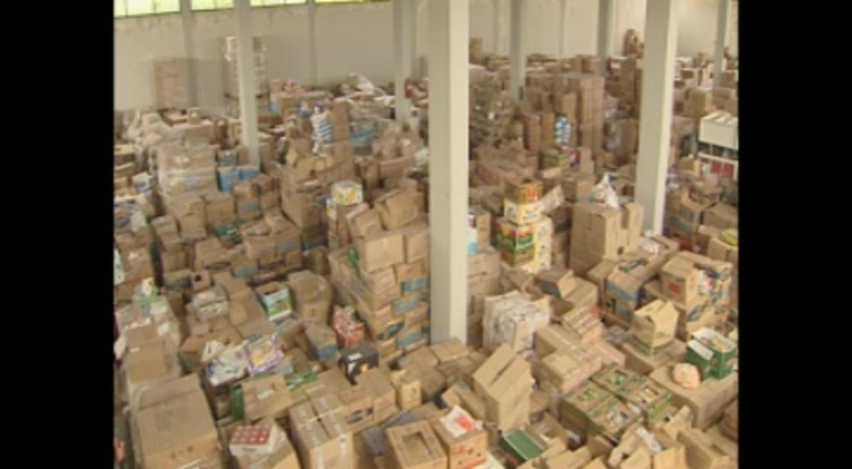 2.876.310 κιλά τροφίμων και 750.000 φαρμακευτικά σκευάσματα