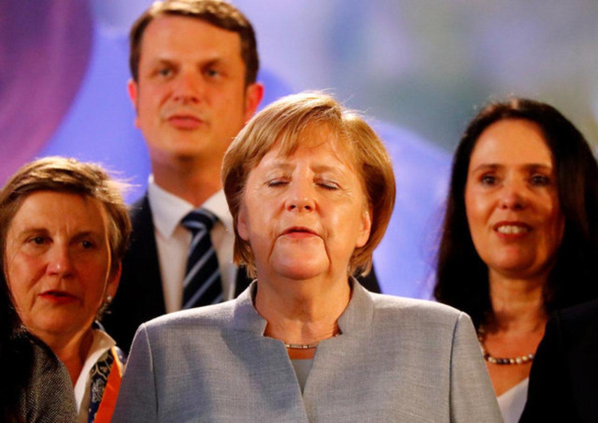 Γαλλικές εκλογές: Η Μέρκελ προτιμάει τον Μακρόν αν και θα την δυσκολέψει