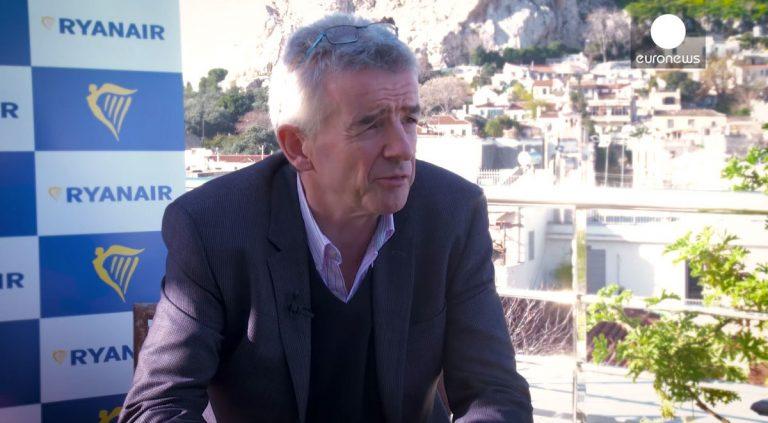 """Το """"αφεντικό"""" της Ryanair ζητά συγγνώμη από τους Έλληνες (VIDEO)"""
