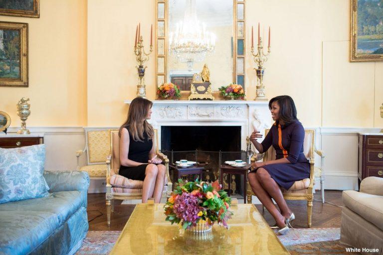 Μελάνια Τραμπ – Μισέλ Ομπάμα: Τσάι και… συμπάθεια [pics]