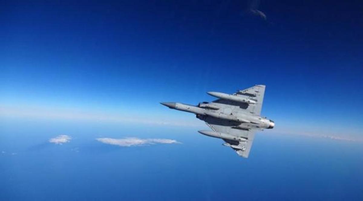 Απώλεια μαχητικού Mirage 2000 στις Σποράδες – Τί συνέβη