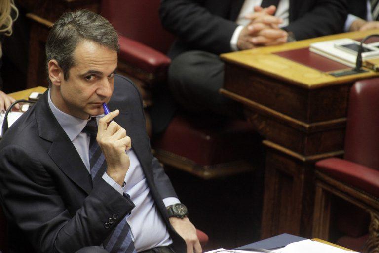 """Μητσοτάκης στο Economist: """"Η Ελλάδα βρίσκεται αναίτια στην εντατική"""""""