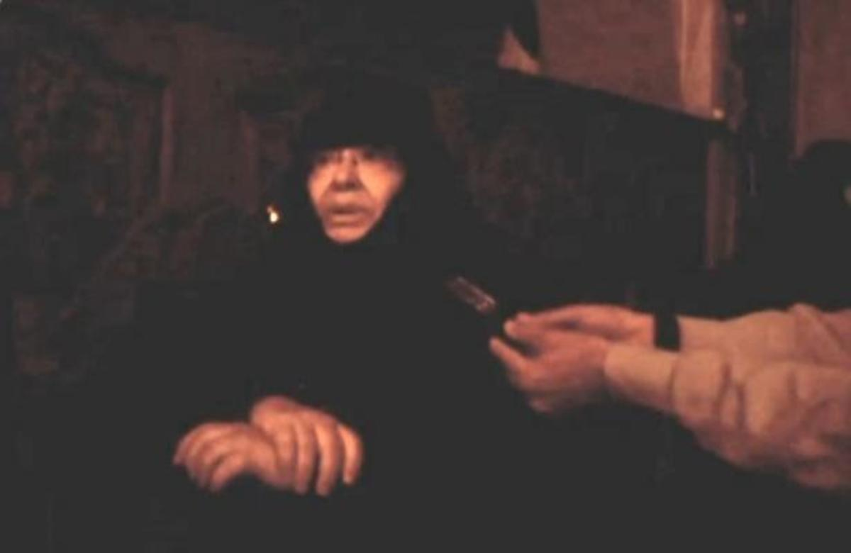 Εικόνα από το ρεπορτάζ του τηλεοπτικού σταθμού MEGA