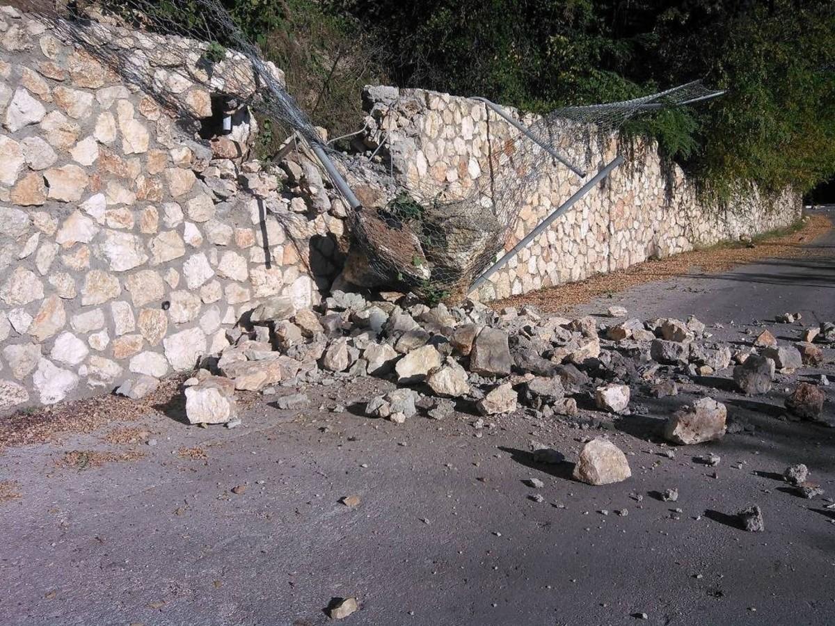Η πρώτη εικόνα από τις Καρυές Λευκάδας - Πηγη: mylefkada.gr