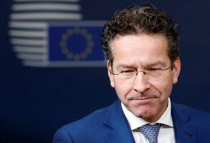 """Ντάισελμπλουμ: """"Ήμουν στόχος τρομοπακέτου από την Ελλάδα"""""""